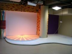 Lighting of TV of studios