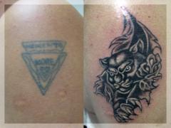 Restaurarea tatuajelor