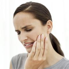 Treatment of caries, not carious damages of teeth