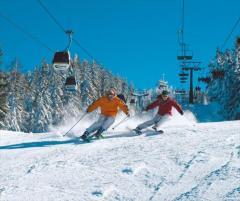 La schi cu Vila Verde