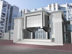 Design of designs of the ventilated facades
