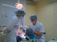 Reception of the doctor-parodontologa