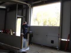 Installation of gate section from Cvantid SRL