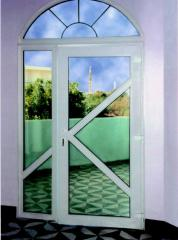 Repair of doors from plastic, aluminum, a tree aluminum