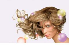 Коррекция цвета волос