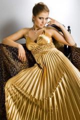 Hire of evening dresses