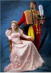 Carnival costumes in Chisina