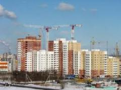 Construction of buildings on block system