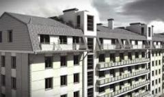 Construction of mansard apartments