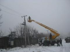 Reconstruction and overhauling of power lines