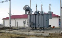 Construction of transformer substations and