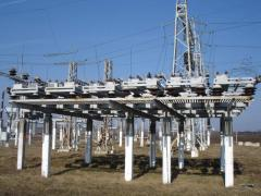 Construction of transformer substations in the CIS