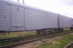 Услуги железнодорожных перевозок в рефрижераторных