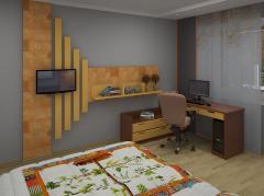 Дизайн интерьера спальни в Кишиневе