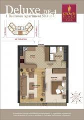 Luxury apartments. 2-bedroom deluxe apartment
