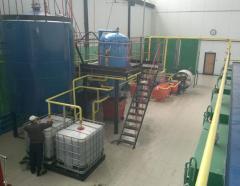 Монтаж линий  по производству масла из