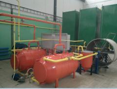 Мини -завод с оборудованием и линиями по