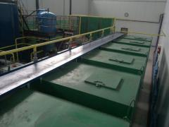 Plant with the equipment for production of oil