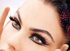 Mink and silk eyelash extension