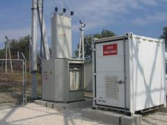 Design and realization of transformer substations