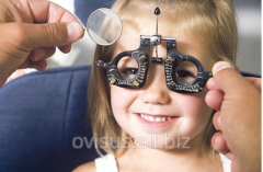 Children's eye diseases