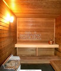 Repair of saunas