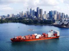 Международные перевозки в морских контейнерах в