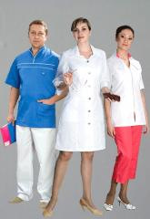 Tailoring of medical clothes