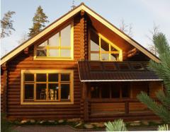 Дома и сооружения деревянные сборные