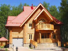 Country houses, arbors, verandahs wooden