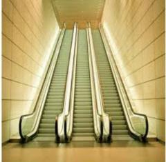 Installation and setup of escalators