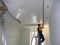 Installation of false ceilings