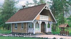 Строительство бань из сруба в Молдове