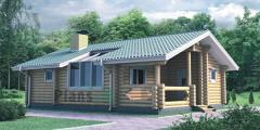 Строительство деревянных бань в Молдове