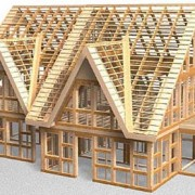 Frame houses