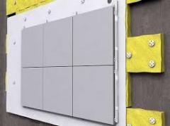 Installation of aluminum composite panels