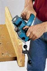 Sharpening of the woodworking tool