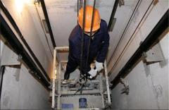 Maintenance and repair of the mounted equipment, elevators (guarantee and post-guarantee)
