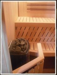 Construction of the Finnish saunas