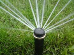 Монтаж оборудования для орошения, полива