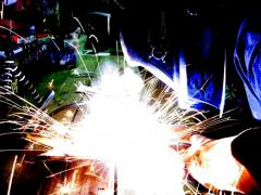Welding works in Chisina
