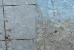 Restoration of marble and granite surfaces.