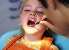 Dental care at children