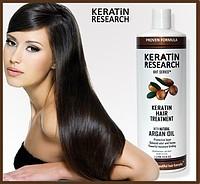 Кератиновое лечение (выпрямление) волос