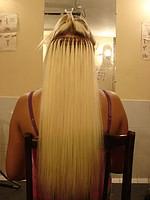 Наращивание натуральных словянских волос