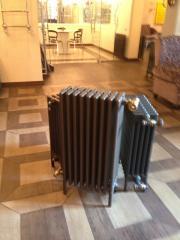 Монтаж и обвязка чугунного радиатора
