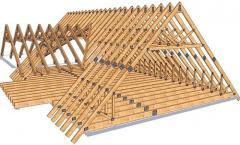 Construcția etajelor la mansarde