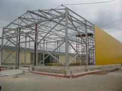 Construction of industrial workshops