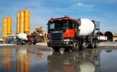 Construction of concrete plants