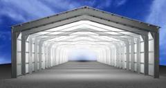 Construction of hangars